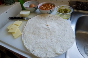 Ingredients, laid out